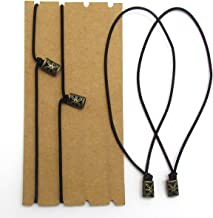 Traveler's Notebook Elastic Bands - Leather Journal Refill Connection Band Straps Replacements (8.5
