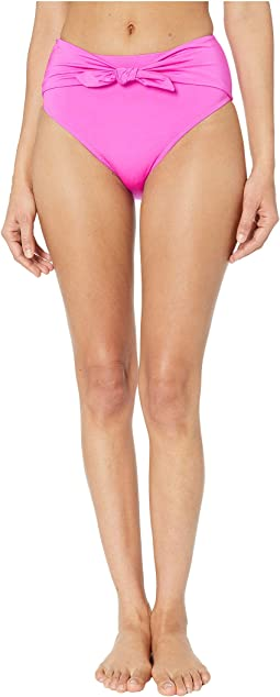 Getaway Solids High-Waist Bottom