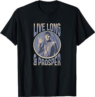 Star Trek Spock Live Long T-Shirt