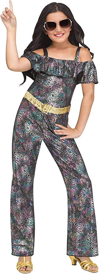 60s 70s Kids Costumes & Clothing Girls & Boys Fun World Disco Queen Child Costume  AT vintagedancer.com