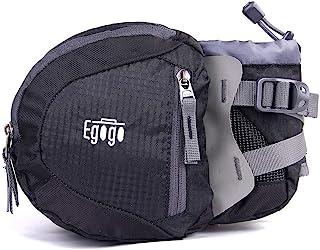 EGOGO Travel Sport Waist Pack Fanny Pack Hiking Bum Bag with Water Bottle Holder S2209