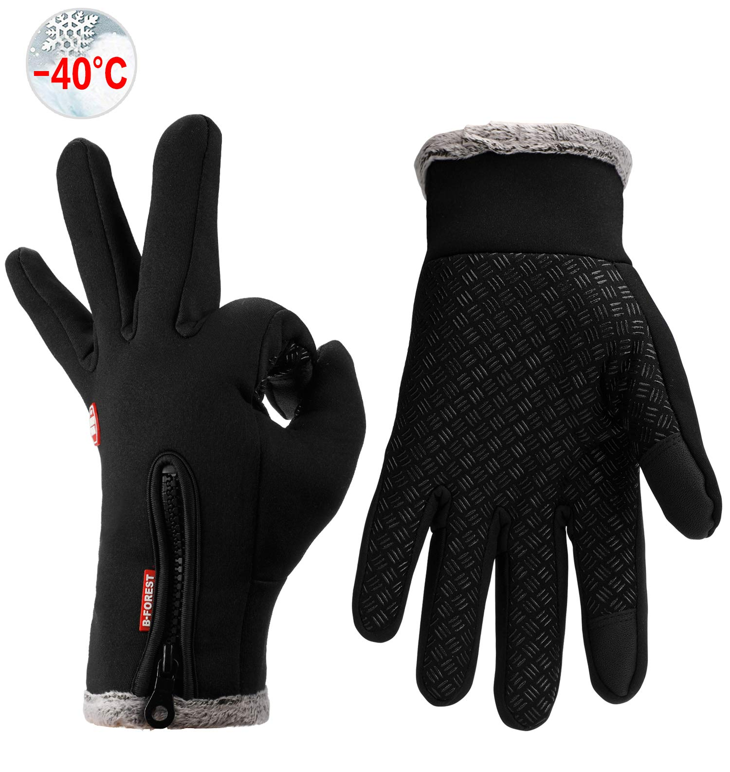 Tendaisy Gogomore Warm Thermal Gloves Cycling Running Driving Gloves