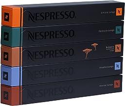 Nespresso lungo Juego todos los 5lungos, 5barras à 10Cápsulas, 50Cápsulas