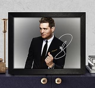 Michael Buble Signed Autographed Photo 8X10 Reprint Rp Pp - Christmas