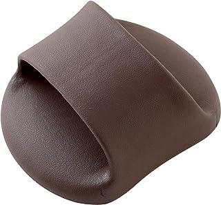 アーネスト スリッパ ブラウン 11.5×15×8cm ひょいと一歩 足de纏 A-77035