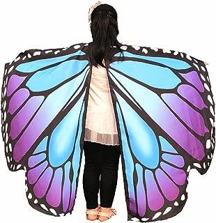 EONGERS Cartoon Butterfly Wings Costume Play Butterfly Wings for Kids