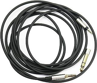Ersatz Audio Upgrade Kabel kompatibel mit Bose QuietComfort 25, QuietComfort 35, QC25, QC35 II, QC35 Kopfhörer, 3 m