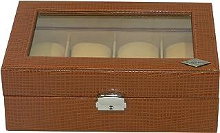 Laveri 8 Watches Storage Box - Brown