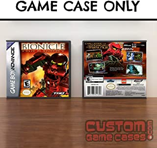 Gameboy Advance Bionicle: Maze of Shadows - Case
