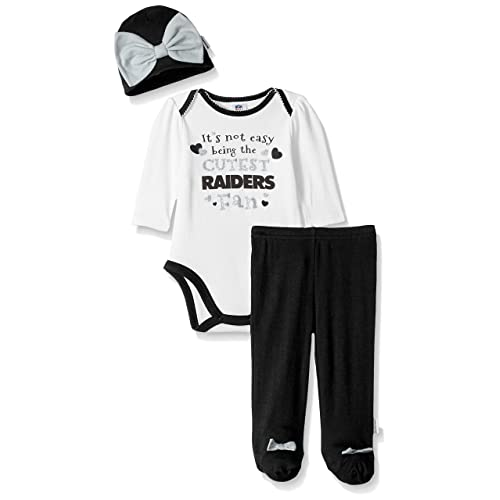 f324fbca Raiders NFL Baby Clothes: Amazon.com