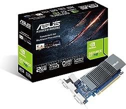 ASUS GT710-SL-2GD5 GeForce GT 710 2GB GDDR5 graphics card - graphics cards (GeForce GT 710, 2 GB, GDDR5, 64 bit, 2560 x 1600 pixels, PCI Express 2.0)