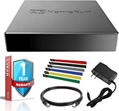 SiliconDust HDHomeRun Connect Quatro with Cat5 Ethernet Cable and 1 Year Extended Warranty