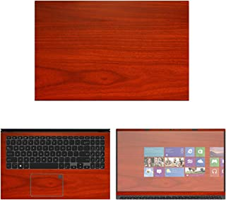 """Decalrus - Protective Decal Wood Skin Sticker for Asus VivoBook F512D / F512FA (15.6"""" Screen) case Cover wrap ASvivobk15_F..."""