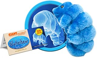 GIANT MICROBES Waterbear (Hypsibius dujardini) Plush Toy