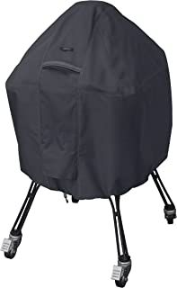 Classic Accessories Ravenna Cover for Kamado Ceramic Grills, Large, Black
