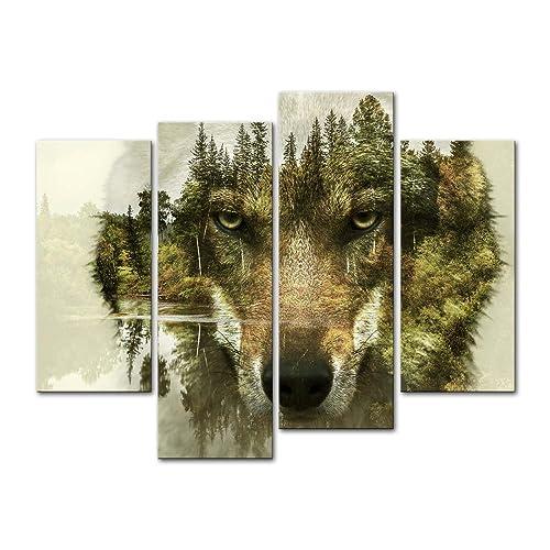 Wolf Artwork Amazon Com