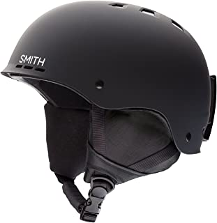 Smith Optics Holt Adult Ski Snowmobile Helmet, Matte Black, Large