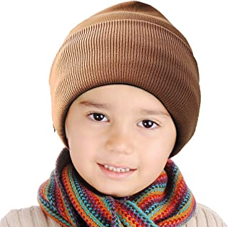 CHIYUNS Kids Winter Beanies Hats Skull Caps for Toddler Boys Girls Warm Thermal Retention