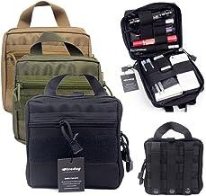 Bolsa organizadora para equipo de primeros auxilios o paramédico, bolsa de herramientas de utilidad para mochila (negro)