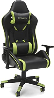 RESPAWN 120 Racing Style Gaming Chair, in Green (RSP-120-GRN)