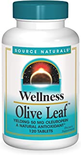 Source Naturals Wellness Olive Leaf, 120 Tablets