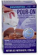 Environmental Technology 8-Ounce Kit Lite Pour-On, High Gloss Finish, 8 Ounces, Clear