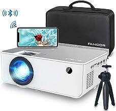 1080P HD Projector, WiFi Projector Bluetooth Projector, Fangor 5500 Lumen 230