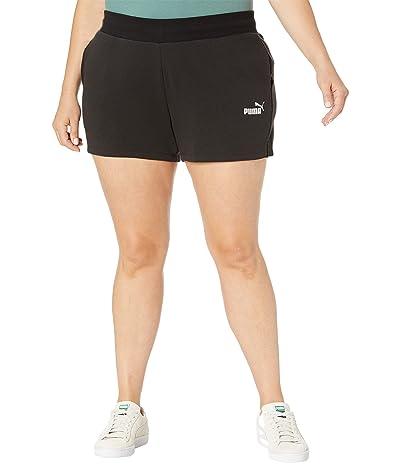 PUMA Plus Size Essentials 4 Sweatshorts