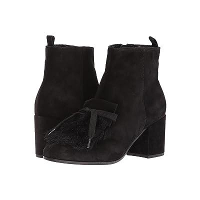 Kennel & Schmenger Kiki Embellished Boot (Schwarz Suede/Faux Fur) Women