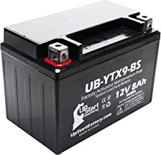 Replacement for 2011 Honda EU3000 Factory Activated, Maintenance Free, Tractor/Generator Battery - 12V, 8Ah, UB-YTX9-BS