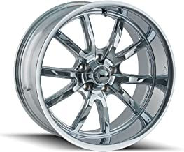 Ridler 650 Wheel with Chrome Finish (18 x 8. inches /5 x 120 mm, 0 mm Offset)