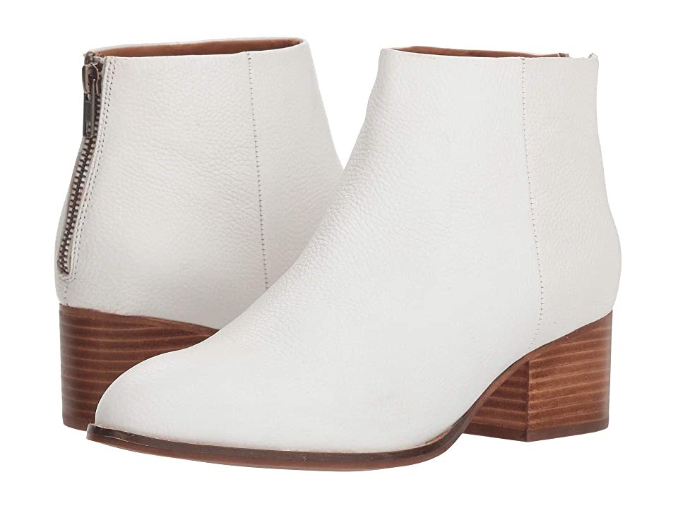 Retro Boots, Granny Boots, 70s Boots Seychelles Floodplain Bootie White Leather Womens Boots $148.95 AT vintagedancer.com