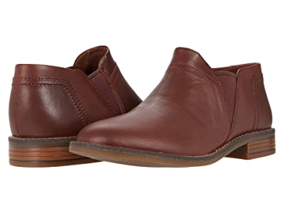 Clarks Camzin Mix (Mahogany Leather) Women