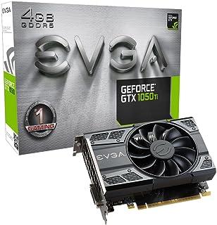 EVGA GeForce GTX 1050 Ti GAMING Tarjeta gráfica (4 GB GDDR5, DX12 Soporte OSD PXOC)