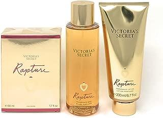 Victoria's Secret Rapture Eau de Parfum 3 Piece Bundle