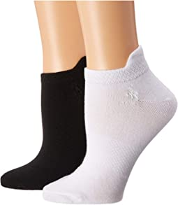 Flat Knit Low Cut 6-Pack w/ Tab & Arch Support
