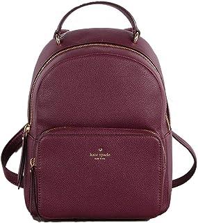 Kate Spade New York WKRU5498-513 Mini Nicole Larchmont Avenue Deep Plum Backpack