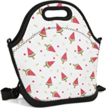 ArPKnight Watermelon-Popsicle-Clip-Art- Lunch Box Eco School Cooler Bag Lunch Box