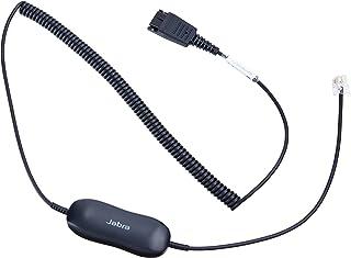 Jabra GN1216 QD auf RJ9 Anschlusskabel für Avaya one X Telefonsysteme der 9600 Serie, gewendelt