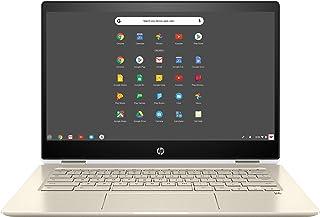 """HP Chromebook x360-14"""" FHD Touch - i3-8130U - 8GB - 64GB eMMC - Silver White"""