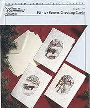 Winter Scenes Greeting Cards [Cross Stitch Charts] - Design No. 125-100