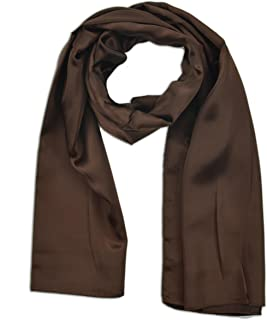 Oblong Satin Silk Feel Scarf