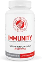 Immunity - Immune System Booster Support Supplement - Antioxidants, Probiotics, Herbs & More (1 Bottle - 30 Day Supply)