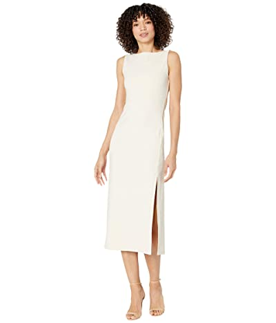 Susana Monaco Crew Slit Sleeveless Dress Women