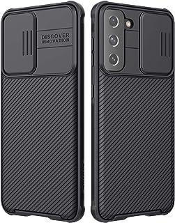 S21 Plus Case, Nillkin Samsung Galaxy S21 Plus Camera Protection Case | Slide Camera Cover | Slim Stylish | Anti Slip | Sc...