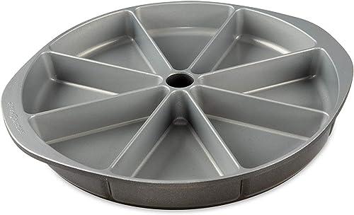 Nordic Ware Scottish Scone & Cornbread Pan, Grey