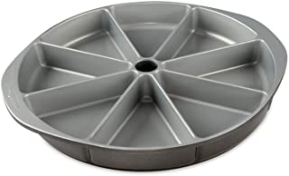 Nordic Ware Scottish Scone & Cornbread Pan, black