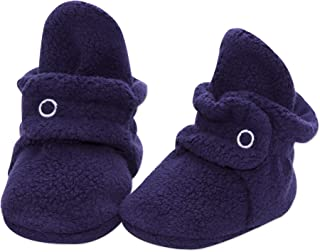 Cozie Fleece Baby Booties, Unisex, For Newborns and Infants
