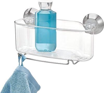 インターデザイン(Interdesign) 浴室用ラック クリア 12.70/28.45/13.21 79720EJ