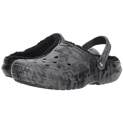 Crocs Classic Kryptek Typhon Lined Clog (Black) Clog Shoes